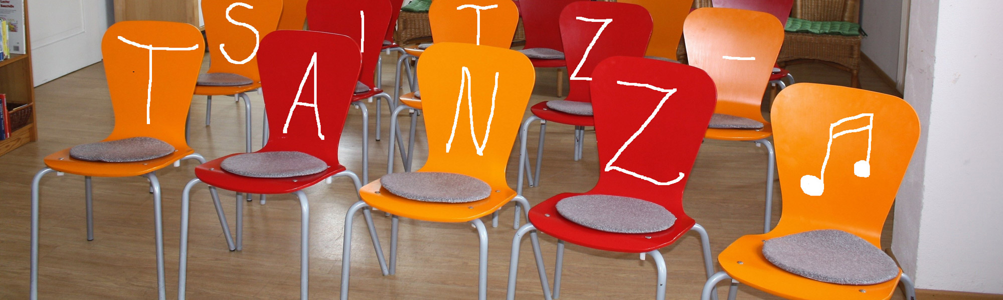 Stühle für Sitztanz
